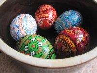 Dřevěné vejce, 1ks