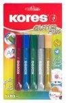 Lepidlo KORES Glitter glue 5 barev